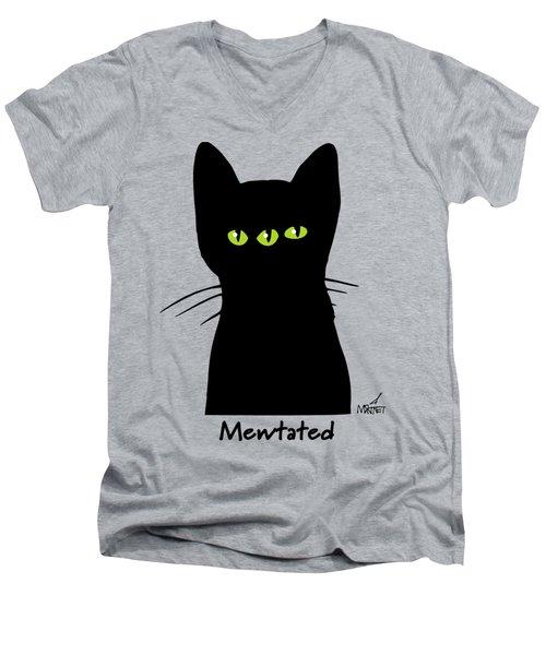 Mewtated Men's V-Neck T-Shirt