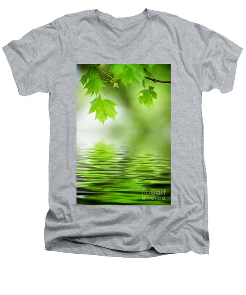 Maple Tree Men's V-Neck T-Shirt
