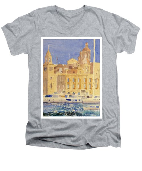 Maritime Museum Men's V-Neck T-Shirt