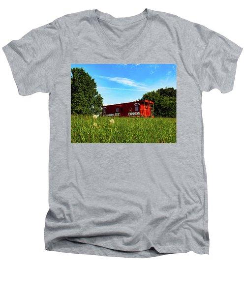 Mayberry Express Men's V-Neck T-Shirt