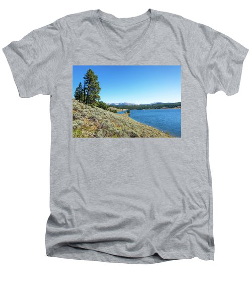 Meadowlark Lake View Men's V-Neck T-Shirt