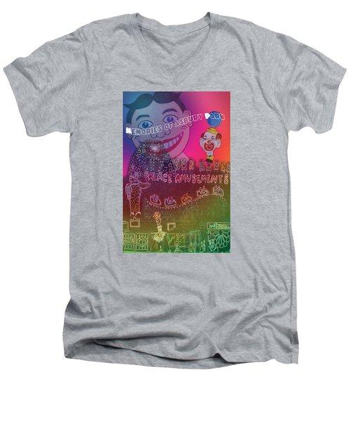 Memories Of Asbury Park Men's V-Neck T-Shirt