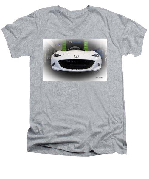 Miata Signed Men's V-Neck T-Shirt