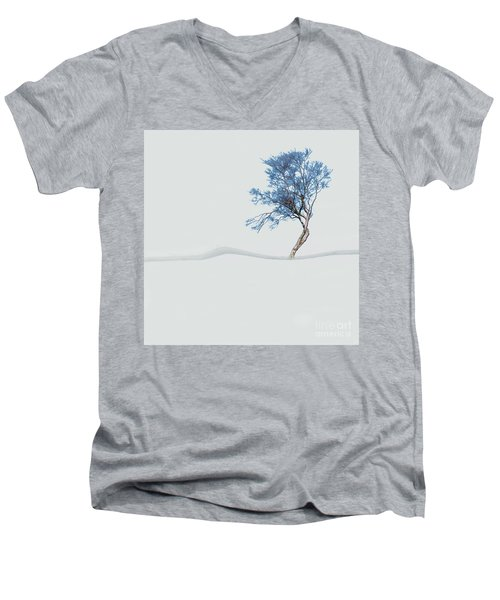 Mindfulness Tree Men's V-Neck T-Shirt