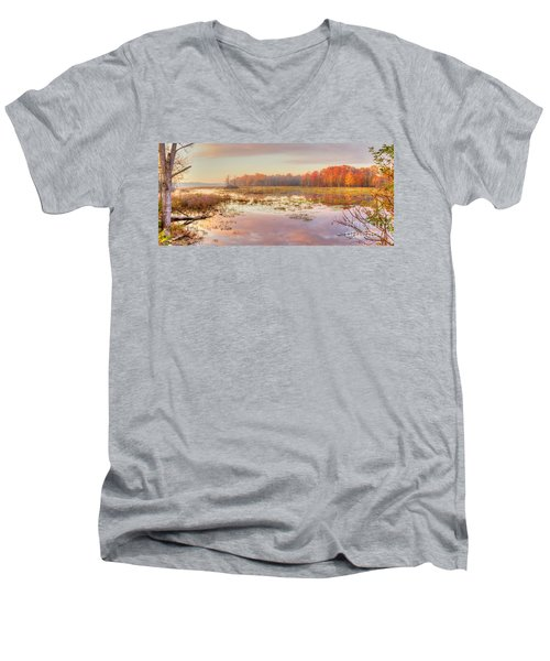 Misty Morning II Men's V-Neck T-Shirt