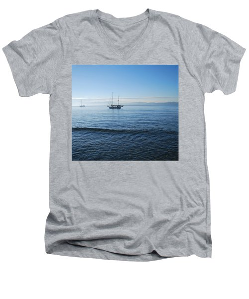 Morning Clouds Men's V-Neck T-Shirt