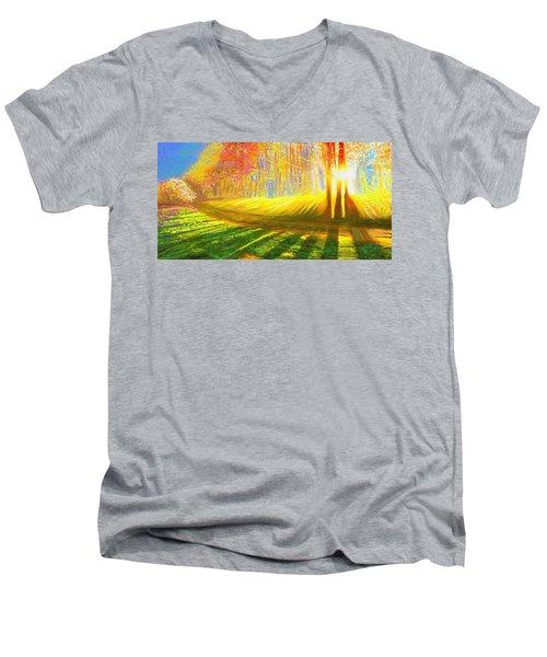 Morning Men's V-Neck T-Shirt