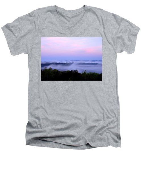 Morning Mist Men's V-Neck T-Shirt