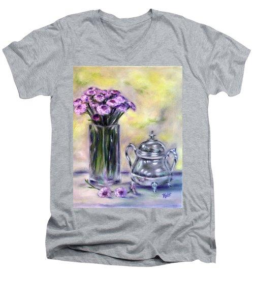 Morning Splendor Men's V-Neck T-Shirt