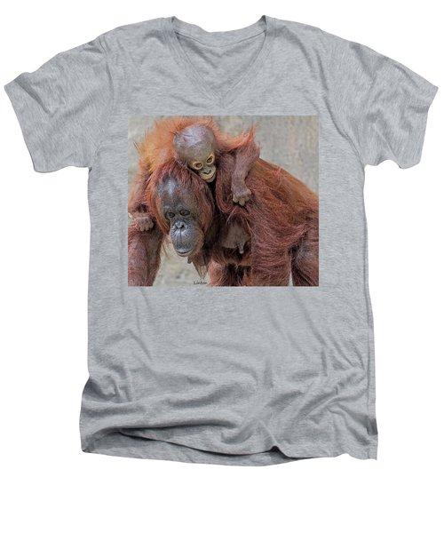 Motherhood 2 Men's V-Neck T-Shirt