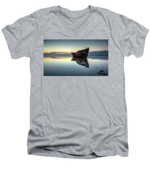 Motueka Sunrise 1 Men's V-Neck T-Shirt by Brad Grove