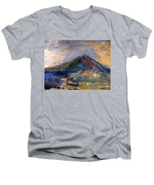 Mountain Majesty Men's V-Neck T-Shirt