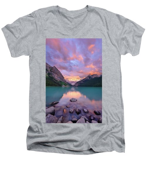 Mountain Rise Men's V-Neck T-Shirt
