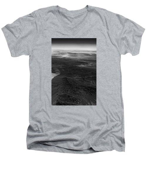 Mountains And Desert Men's V-Neck T-Shirt