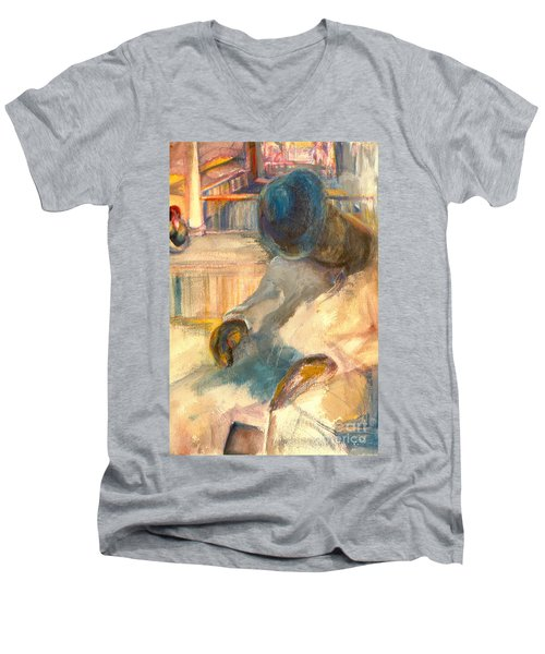 Mr Hunters Porch Men's V-Neck T-Shirt