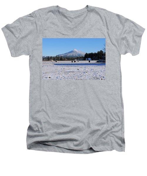 Mt. Pilchuck Men's V-Neck T-Shirt
