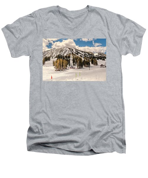 Mt. Rose Men's V-Neck T-Shirt