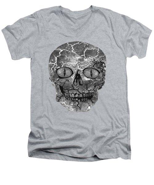 My Spooky Gothic Halloween  Men's V-Neck T-Shirt