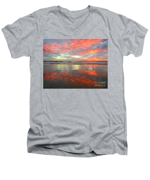 North County Reflections Men's V-Neck T-Shirt