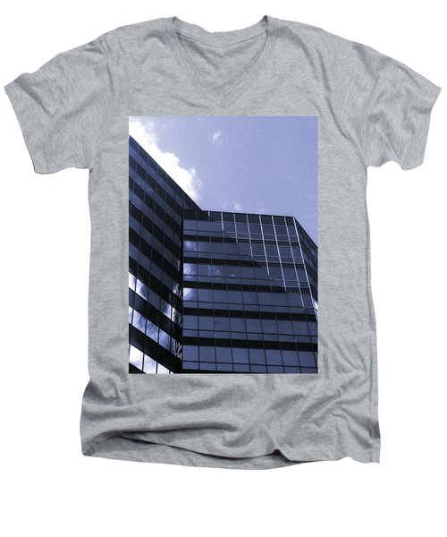 Men's V-Neck T-Shirt featuring the photograph Obscurity by Jamie Lynn