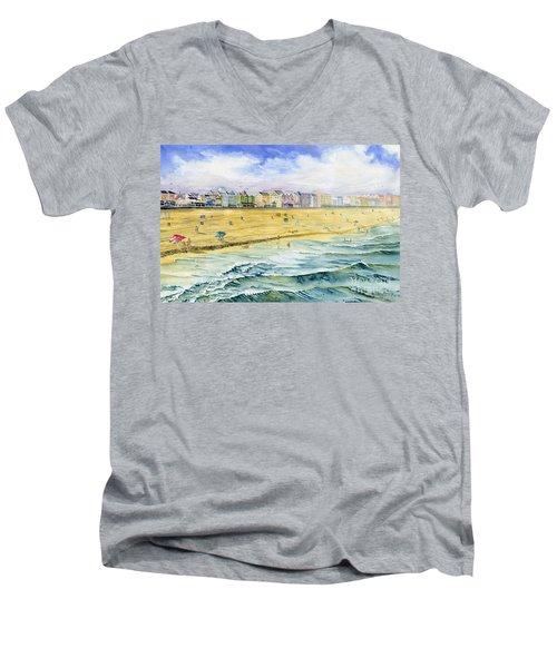 Ocean City Maryland Men's V-Neck T-Shirt