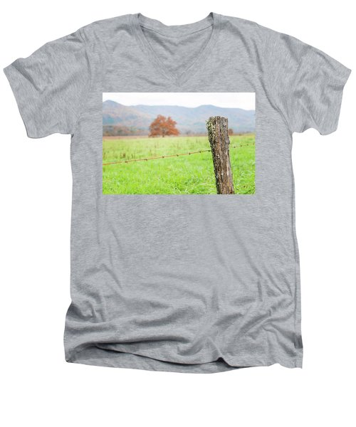 The Old Fence Post Men's V-Neck T-Shirt