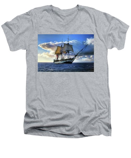 Old Ironsides Men's V-Neck T-Shirt