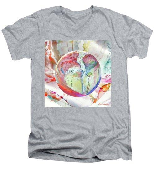 Orbiental Expression Men's V-Neck T-Shirt