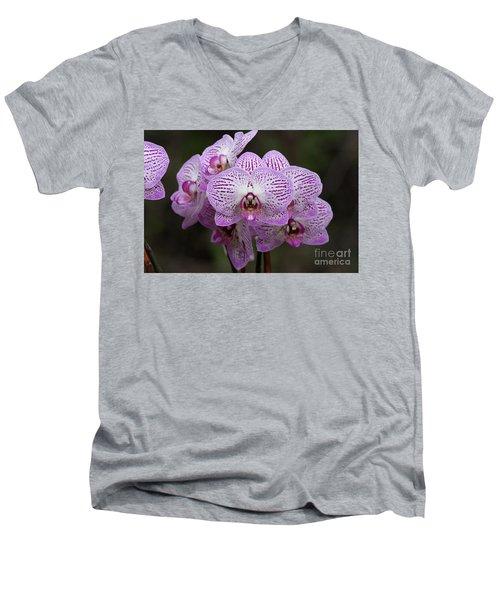 Orchids Men's V-Neck T-Shirt