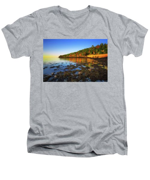 Otter Cove Men's V-Neck T-Shirt