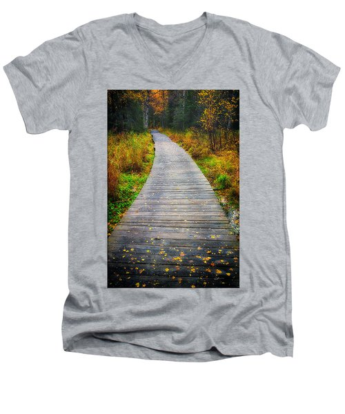 Pathway Home Men's V-Neck T-Shirt