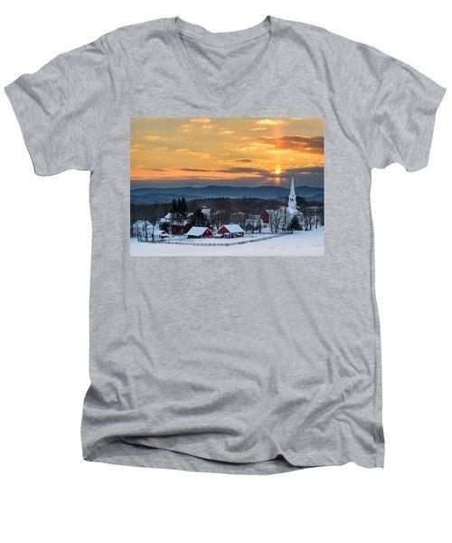 Peace Over Peacham Men's V-Neck T-Shirt