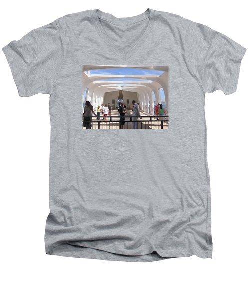 Pearl Harbor Remembered Men's V-Neck T-Shirt