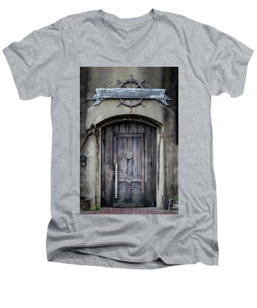 Perkins And Sons Door Men's V-Neck T-Shirt