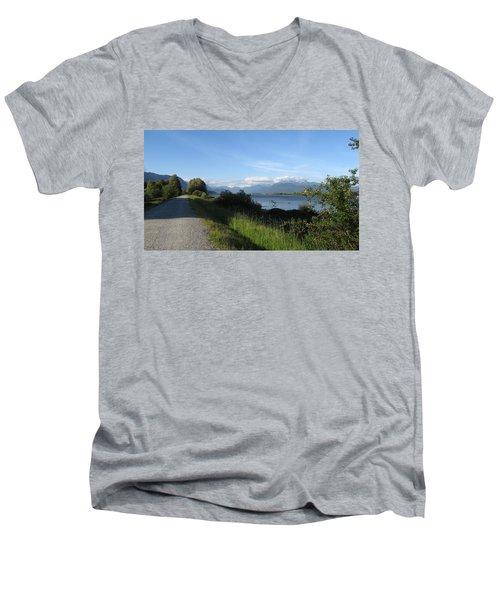 Pitt River Men's V-Neck T-Shirt