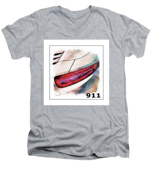 Porsche 911 Men's V-Neck T-Shirt