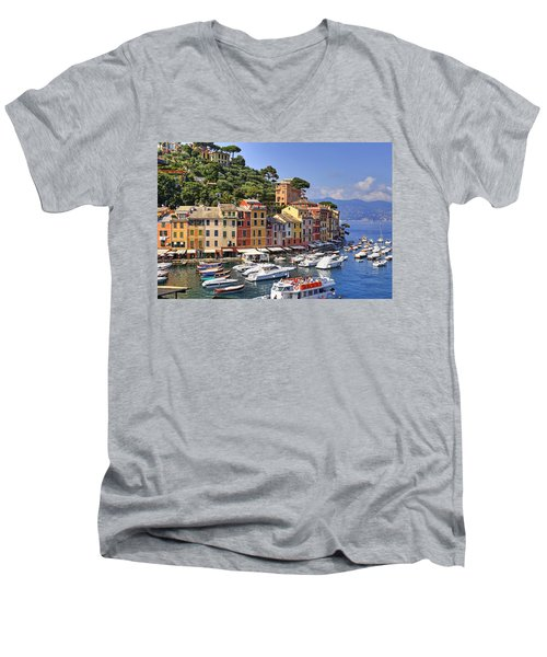 Portofino Men's V-Neck T-Shirt