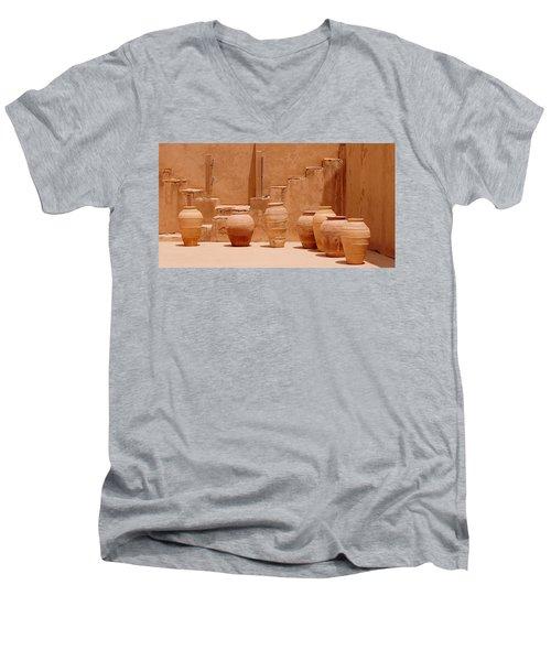 Pots Men's V-Neck T-Shirt