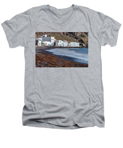 Pozo Negro - Fuerteventura Men's V-Neck T-Shirt