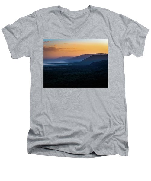 Quiet Beauty Men's V-Neck T-Shirt