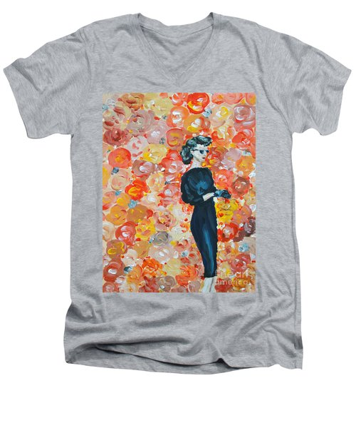 Ready To Love Men's V-Neck T-Shirt