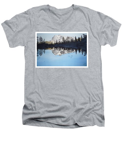 Reflection Lake Men's V-Neck T-Shirt