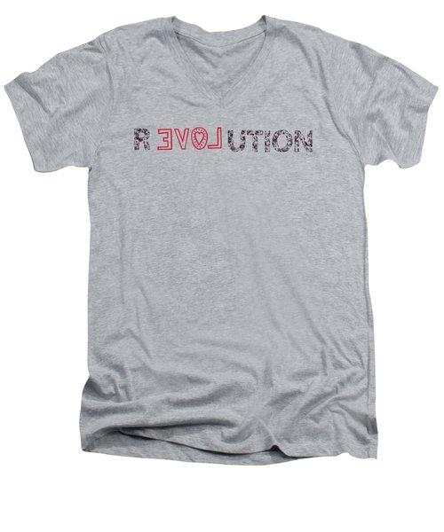 Revolution Men's V-Neck T-Shirt