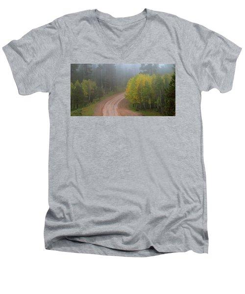 Rim Road Men's V-Neck T-Shirt