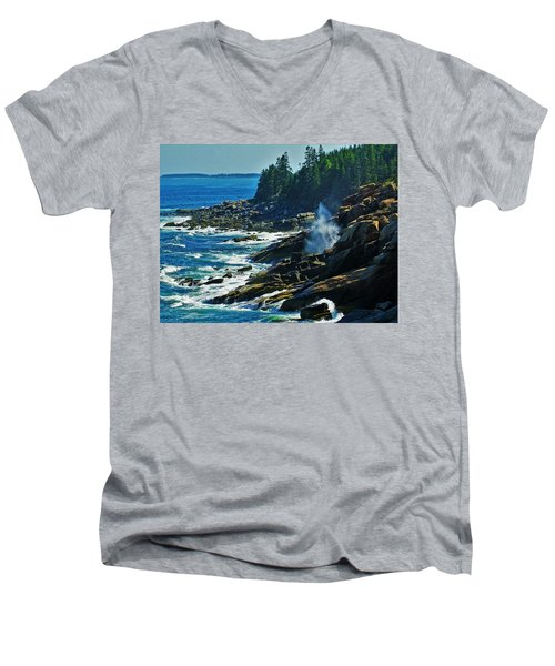 Rockport Shoreline Men's V-Neck T-Shirt