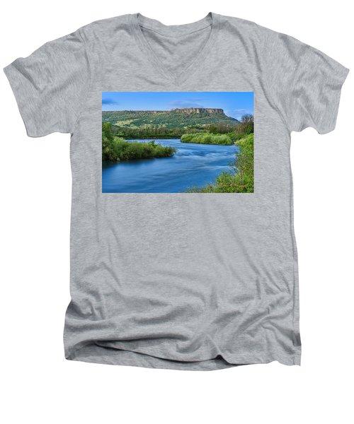 Rolling Along Men's V-Neck T-Shirt