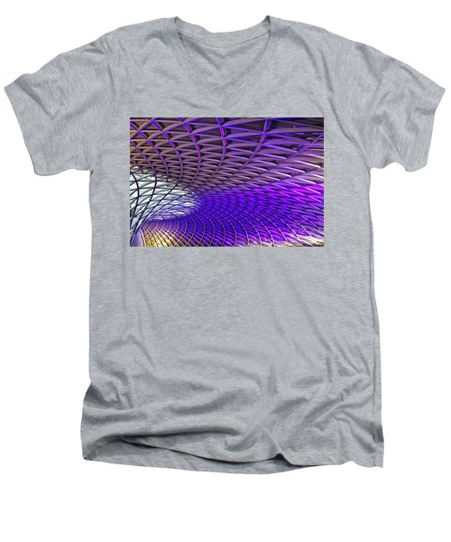 Roof Design Men's V-Neck T-Shirt by Shirley Mitchell