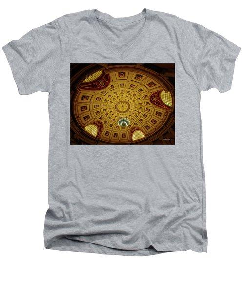 Rotunda  Men's V-Neck T-Shirt