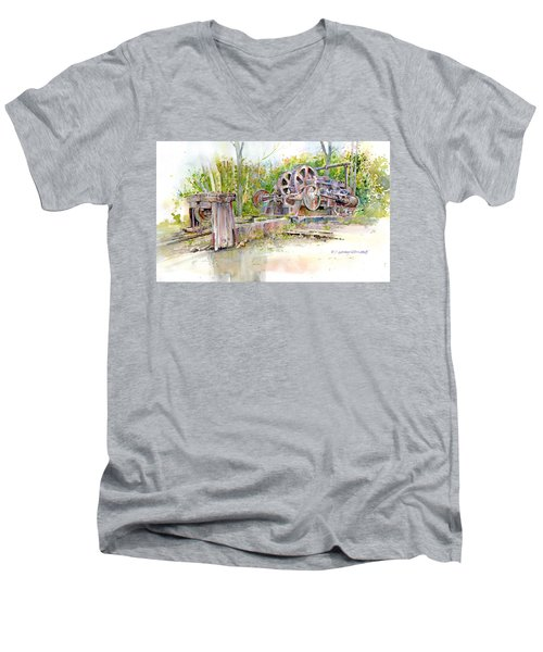 Rusting Relic Men's V-Neck T-Shirt