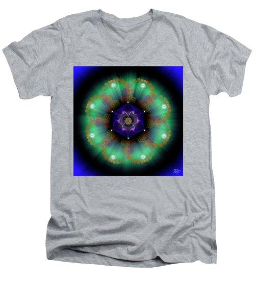 Sacred Geometry 638 Men's V-Neck T-Shirt